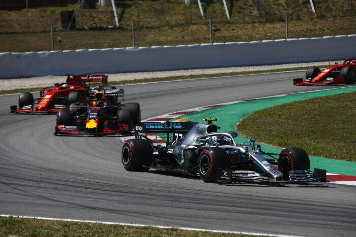 F1 ספרד: כרגיל מרצדס 1,2