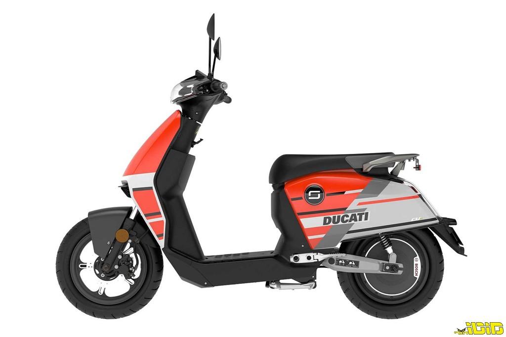 דגם חדש לדוקאטי: קטנוע חשמלי