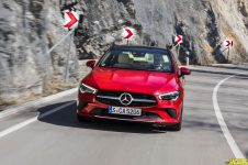 Mercedes-Benz Presse Fahrvorstellung CLA Coupé. München 2019// Mercedes-Benz Press Test Drive. Munich 2019
