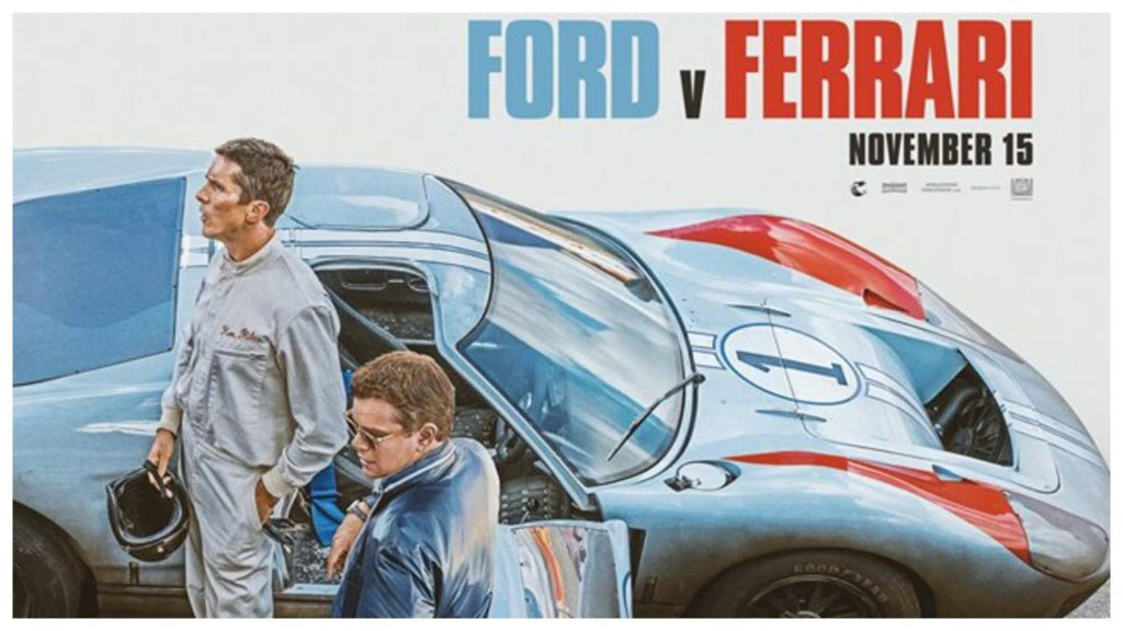 המלצה לסרט: Ford V.S Ferrari