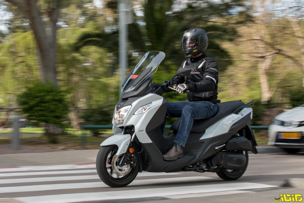 סאן יאנג ג'וימקס Z 250 במבחן דרכים