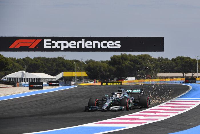 צרפת דירוג F1: מרצדס בשורה הראשונה, שוב