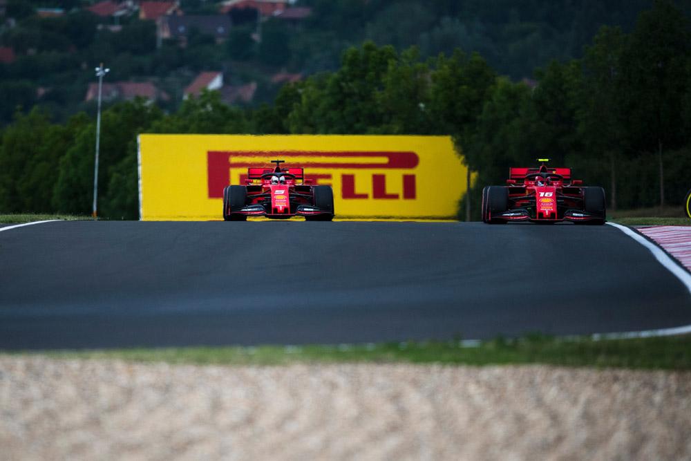 דירוג F1 הונגריה: לראשונה ורשטפן ראשון