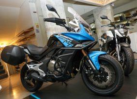 השקה מקומית: אופנועי CFMOTO