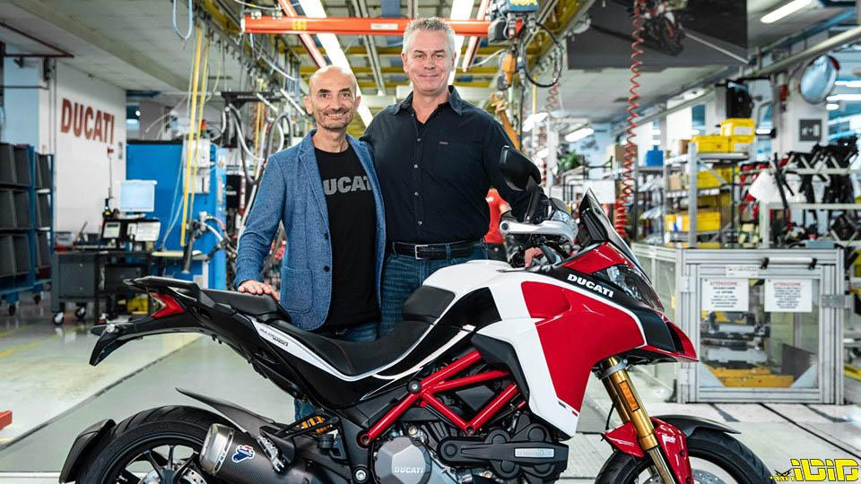דוקאטי חוגגת 100,000 מולטיסטראדות – ומודיעה על שילוב מנוע ה-V4