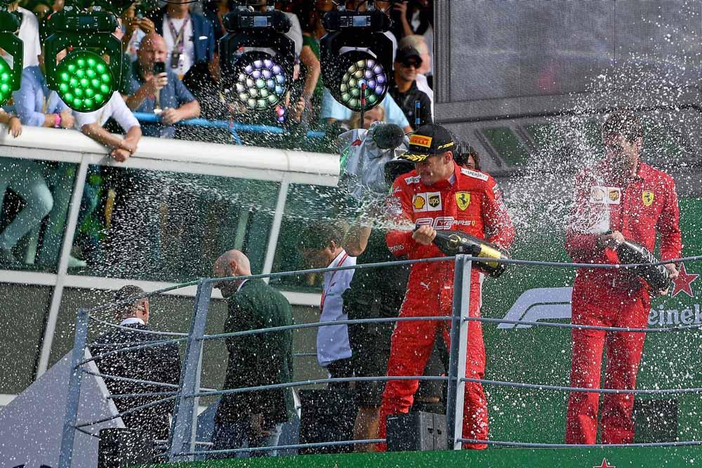 איטליה F1 מרוץ: הנסיך ממונקו