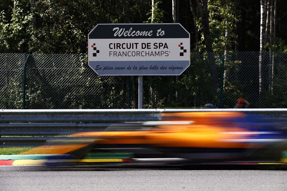 דירוג F1 בלגיה: פרארי בשורה הראשונה