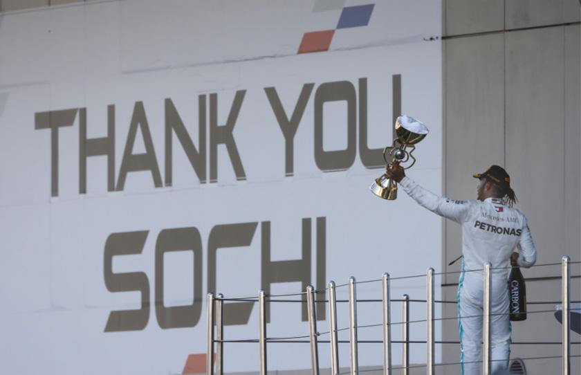 מרוץ F1 רוסיה: מה שהיה הוא שיהיה