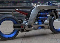 לחולי הניקיון – אופנוע של דייסון