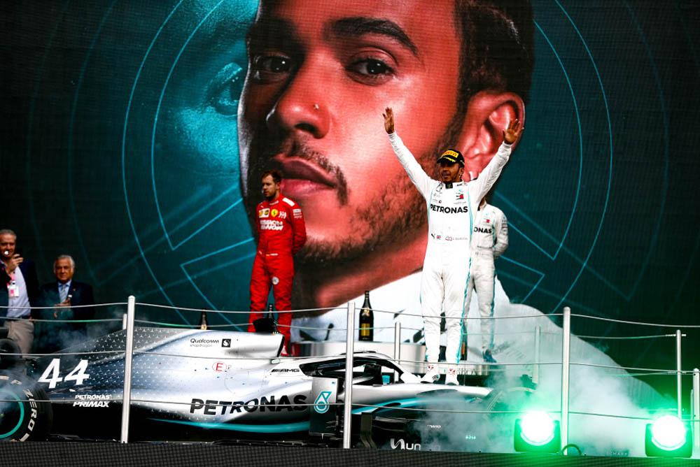 מרוץ F1 מקסיקו, פרארי בשירות המילטון