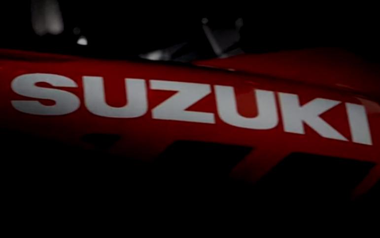 סוזוקי: טיזר שני לקראת אופנוע חדש