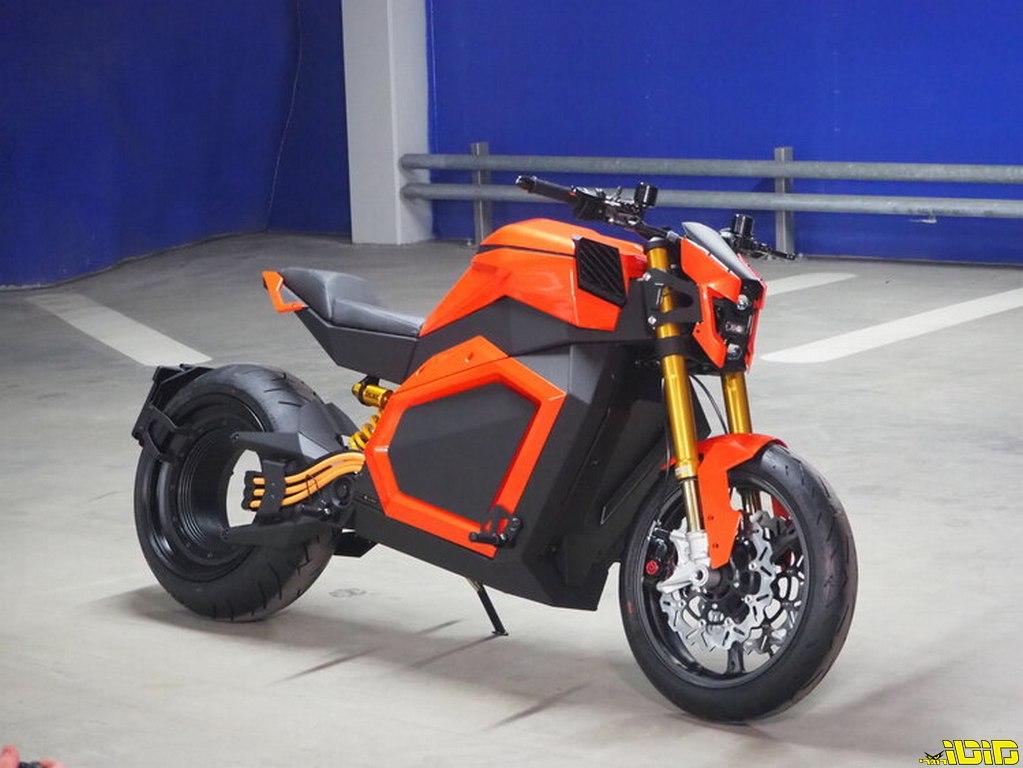 מילאנו: גרסת ייצור חזקה במיוחד ל-RMK החשמלי