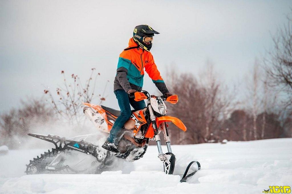 קיט שמסב את האופנוע שלכם לאופנוע שלג