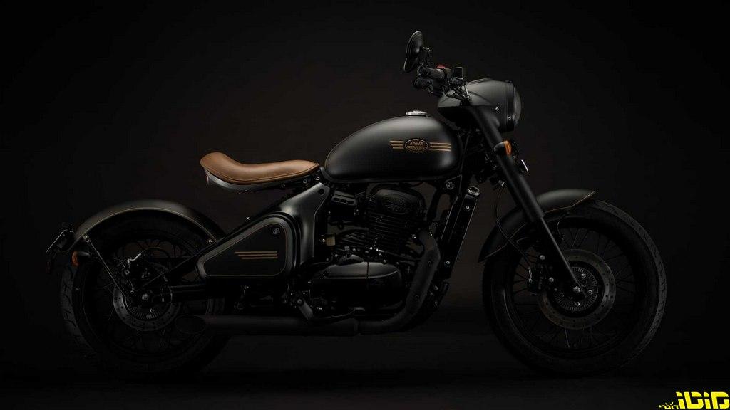 האופנוע החדש של ג'אווה