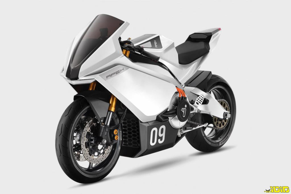 אופנוע ספורט חשמלי חדש לסגוואי