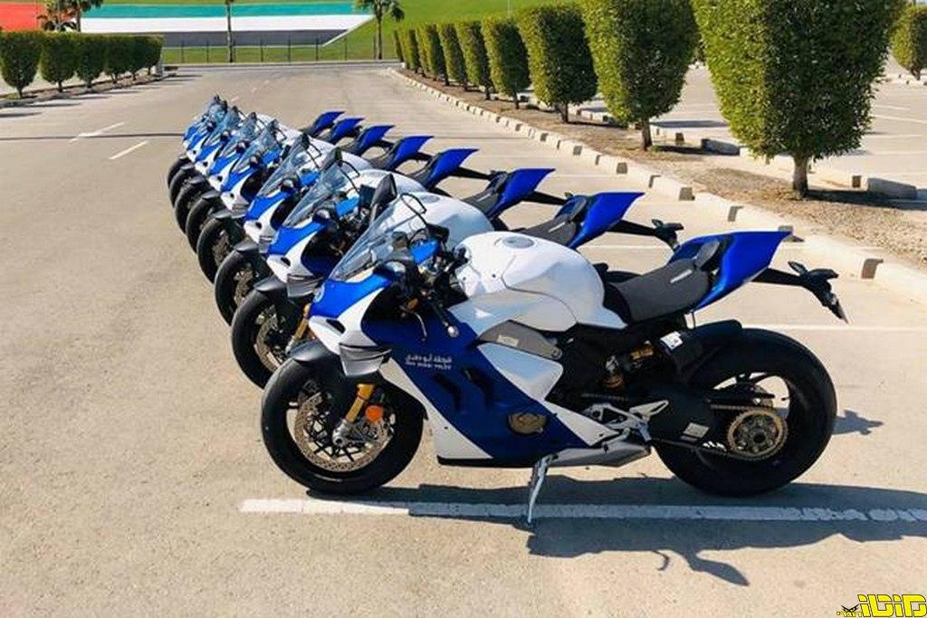 אופנועי דוקאטי חדשים למשטרת אבו דאבי