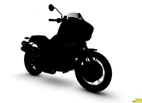 אינדיאן עובדת על אופנוע אדוונצ'ר