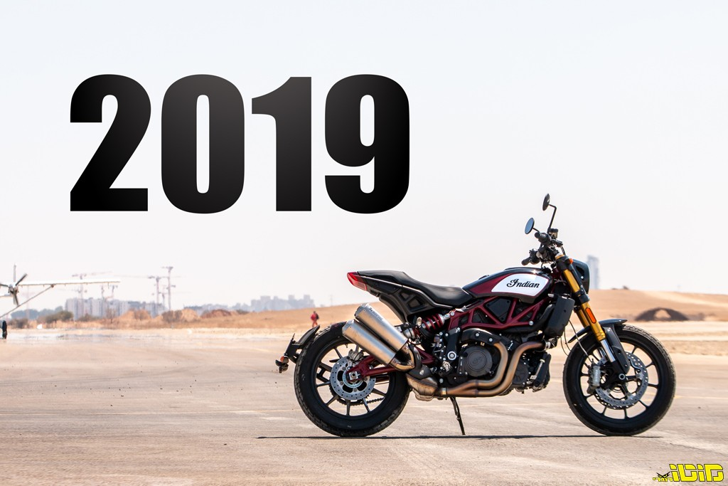 מכירות אופנועים וקטנועים: סיכום 2019