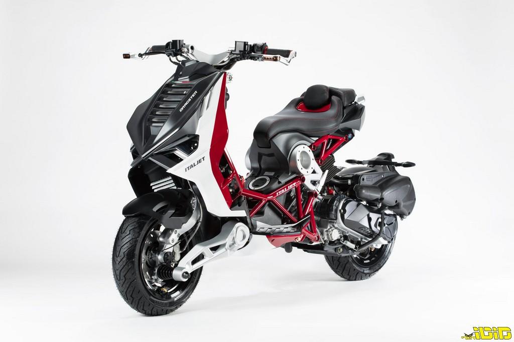 הקטנוע המפלצתי של Italjet מגיע לייצור
