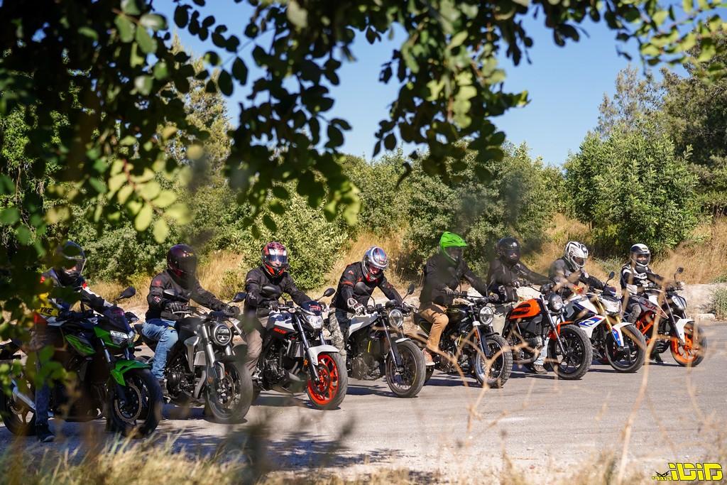 מוטו בוחן | אופנועי נייקד בנפח בינוני