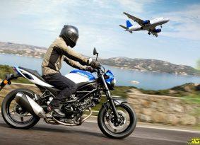 ביטלו לך טיסה בגלל הקורונה? בוא ליהנות מהנחה על אופנוע סוזוקי