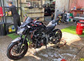 בואו לשטוף איתנו: ריינו-טייר פתחו מחלקת שטיפת אופנועים