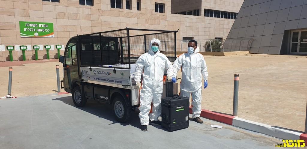 ד.ל.ב תורמת GOUPIL לבית החולים תל השומר