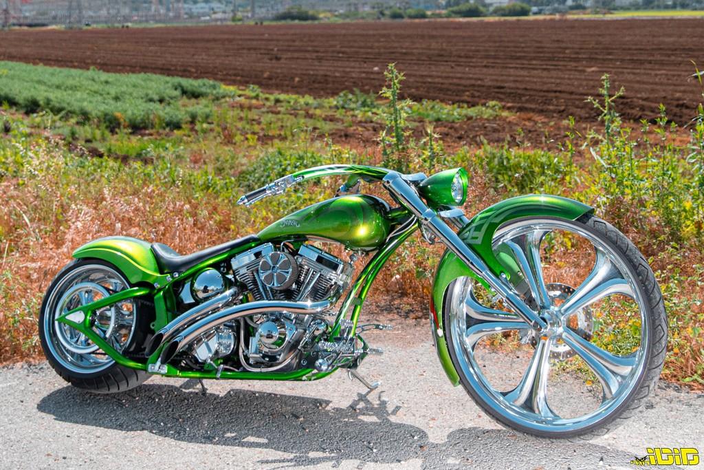 האופנוע הכי מוגזם בישראל: הג'וקר של אלדד