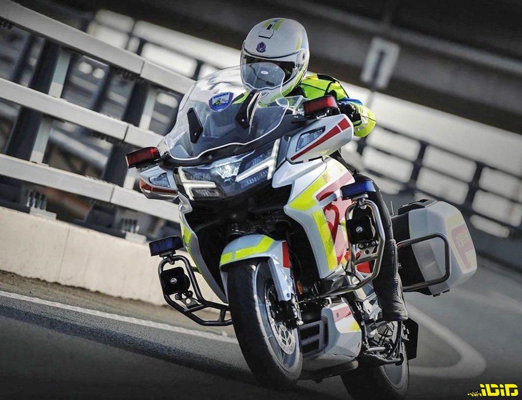אופנוע משטרתי חדש: CF מוטו מציגה את ה-CF1250J