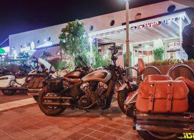 מוטו מטייל | מפגש מועדון רוכבי אינדיאן בבורגר סאלון