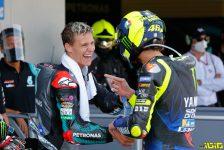 20 Fabio Quartararo, 46 Valentino Rossi ITAE-4459