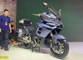 בנלי חושפת את ה-1200GT, אופנוע תיור גדול ומאובזר