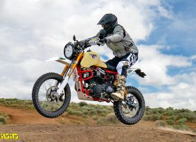 האופנוע של Carducci Dual Sport מוצע למכירה