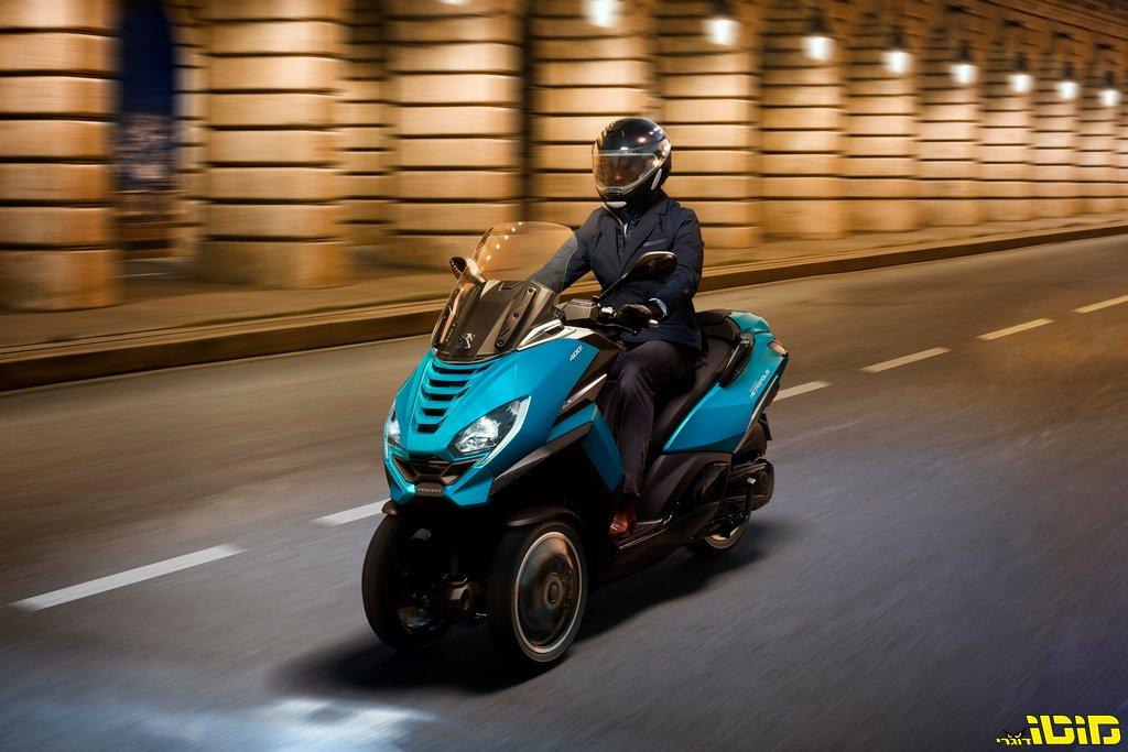 פיג'ו חושפת מטרופוליס 400i חדש ל-2020