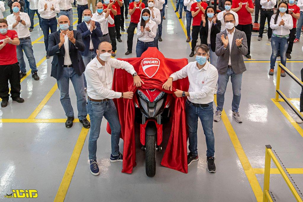 דוקאטי: האופנוע הראשון בעולם עם רדאר מגיע לייצור