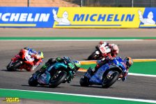 ALEX RINS SPA TEAM SUZUKI ECSTAR SUZUKI MotoGP GP Michelin de Aragon 2020 (Circuit Motorland Aragon) 16-18.10.2020 photo: MICHELIN